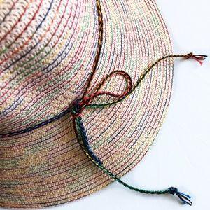 Bohemian Multi-Colored Shimmering Sun Hat
